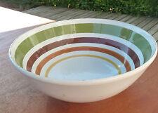 Ancien plat en ceramique vintage annees 1970 ou 1980