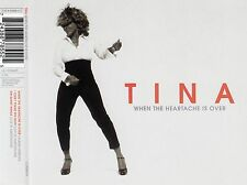 TINA TURNER : WHEN THE HEARTACHE IS OVER / 3 TRACK-CD