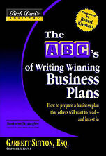 USED (GD) Rich Dad's Advisors®: The ABC's of Writing  Winning Business Plans: Ho