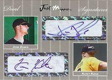 JOHN DANKS - KASEY KIKER 2007 Certified Dual Autograph xx/25
