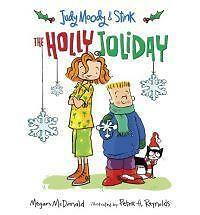 Judy Moody & Stink: The Holly Joliday, McDonald, Megan, New Book