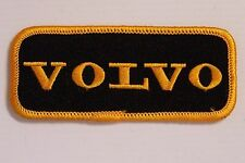 Vintage Volvo Embroidered Patch 98x42mm Woven Cloth Badge Sew-on Motor Racing