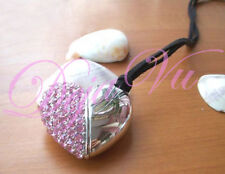 4GB PINK CRYSTAL HEART USB FLASH DRIVE MADE WITH SWAROVSKI ELEMENTS