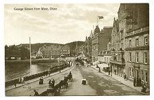 circa 1915 Oban George Street from the West Scotland Vintage Postcard