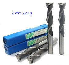 5pcs Extra Long 2mm 2 Flute HSS & Aluminium End Mill Cutter CNC Bit  Extended