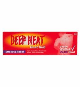 DEEP HEAT RUB EFFECTIVE PAIN RELIEF MUSCULAR RHEUMATIC ACHE STIFF SCIATICA 35g