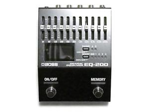 Used Boss EQ-200 10 band EQ Graphic Equalizer Pedal EQ200