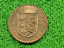 JERSEY 1/12 Shilling 1964 UNC COMBINED