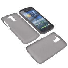 Tasche für Acer Liquid E700 Handytasche Schutz Hülle TPU Gummi Case Grau
