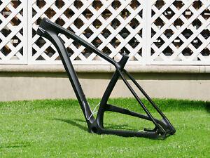 "2021 Carbon Matt 29er Boost Mountain Bike Bicycle Frame 21"" + axle 148mm * 12mm"