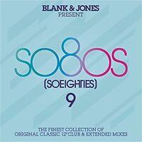 BLANK & JONES - PRESENT SO80S (SO EIGHTIES) 9 (DELUXE BOX) 3 CD NEU
