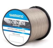 Shimano Technium Invisitec Schnur 0,185mm 3,3Kg 2990m Großspule Monofilschnur