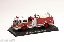 Feuerwehrauto - 1974 Mack CF600 Pumper -1:64 - DIE CAST - CBO042