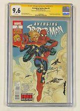 AVENGING SPIDER-MAN #9 Marvel Comics 2012 Rachel & Terry Dodson Signed CGC 9.6