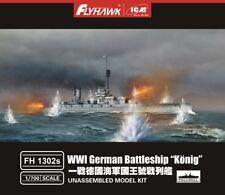 "Flyhawk 1/700 WWI German Battleship ""Konig"" [Full Hull]"