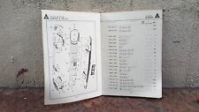 MAZDA 1000 Wagon Part List Catalog Original Genuine Book