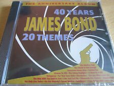 Various - 40 Years James Bond 20 Themes (2003)  CD  NEW/SEALED  SPEEDYPOST