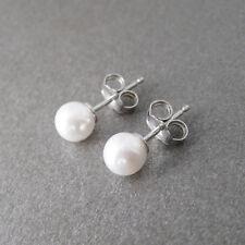 Boucles d'oreilles perles de culture et argent 925/1000e BO242