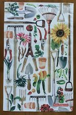 Dig the Earth cotton tea towel by Emma Bridgewater with Tags