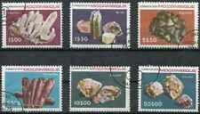 Timbres Minéraux Mozambique 706/11 o lot 28735