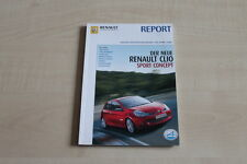 156455) Renault Clio C RS 2.0 16V Concept - Report 03/2005