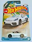 Hot Wheels Porsche Boxster Spyder White #8 Convertibles Series 8/10