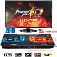 NEW US Pandora's Box 12 3D 3188 IN 1 Video Games Double Stick Arcade Console YJ