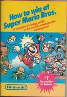 VINTAGE 1987 How to Win at Super Mario Bros. Strategy Guide Book Nintendo