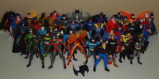 "Vintage 1990s Lot of 40 Loose BATMAN FIGURES 5"" DC Comics Nightwing Superman"