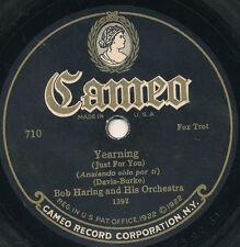 78 14BB - DANCE - CAMEO 710 - BOB HARING AND HIS ORCHESTRA