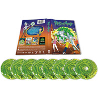 Rick and Morty Complete Series Season 1-4 (DVD, 8-Disc) Brand New US SELLER