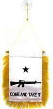 "Wholesale lot 3 White Come and Take It M4 Mini Flag 4""x6"" Window Banner"