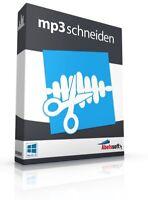 MP3 schneiden - MP3 Dateien perfekt bearbeiten- MP3 Tool -  Download Version