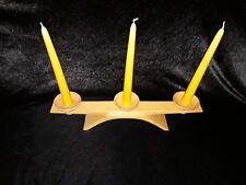 alter Kunststoff Kerzenstaender 50er 60er Jahre mid century 50s60s candel holder