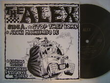 THE ALEX STOP THAT BOMB / JAPAN PUNK FLEXI cobra sa skins