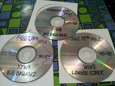 1959 & 1961 KFWB BILL BALLANCE Los Angeles & 1962 WINS LONNY STARR New York 3 CD