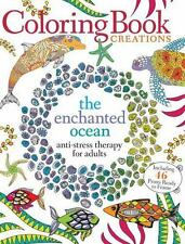 Enchanted Ocean : Anti-Stress Therapy for Adults by Media Lab Books Staff...