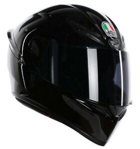 CASCO HELMET  INTEGRALE K-1 E2205 SOLID BLACK AGV SIZE L