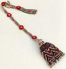 Vintage Afghan Banjara Kuchi Tribal Ethnic Craft Beaded Boho Gypsy Tassel