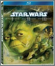 STAR WARS:THE PREQUEL TRILOGY (Episodes I-III)*BLU RAY