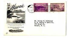 Sobre primer día Puerto Rico Estados Unidos First Day Stamps selllos Circulado