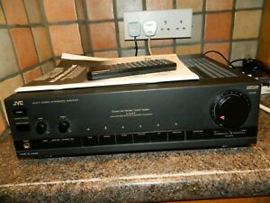 JVC AX-E71 Stereo Integrated Amplifier With Remote Control and Manual