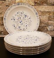 * Set of 6 * Noritake China SERENE GARDEN -- Dinner Plates Set - EXC COND!