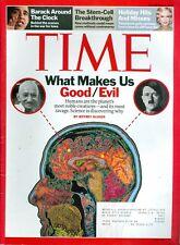 2007 Time Magazine: What Makes Us Good or Evil Hitler/Barack Obama