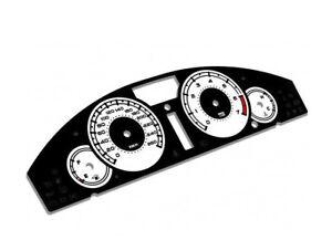 Chrysler 300C glow gauges dials plasma dials kit tacho glow dash shift indicator