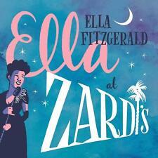ELLA FITZGERALD - ELLA LIVE AT ZARDI'S CD ~ BLUES / JAZZ *NEW*