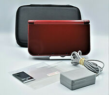 Red Nintendo New 3DS XL In Case W. Charger