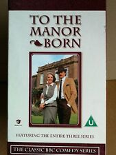 To The Manor Born Series 1 - 3. 6 Box VHS Video Tape Collection