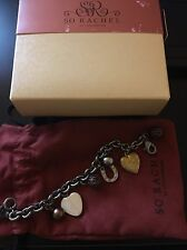 Longaberger So Rachel Scion Charm Bracelet - New!