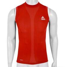 Adidas Techfit SL Herren Kompression Shirt Tank Top Muskel Shirt Achselshirt rot